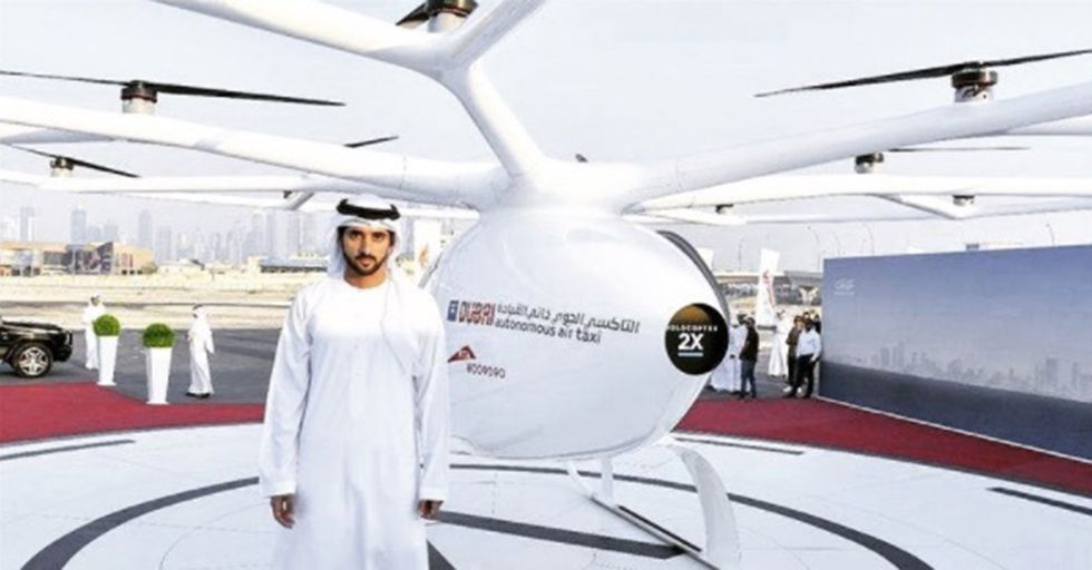 Dubai's Fabled Self-Flying Taxis Have Lifted Off