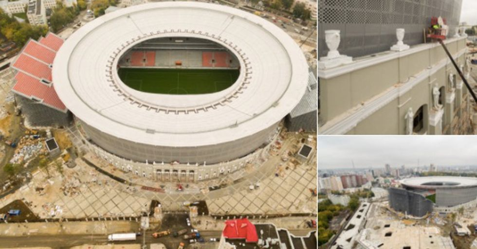 Russia's Response To World Cup Seating Requirements Appears To Be Both Unsafe And Pointless