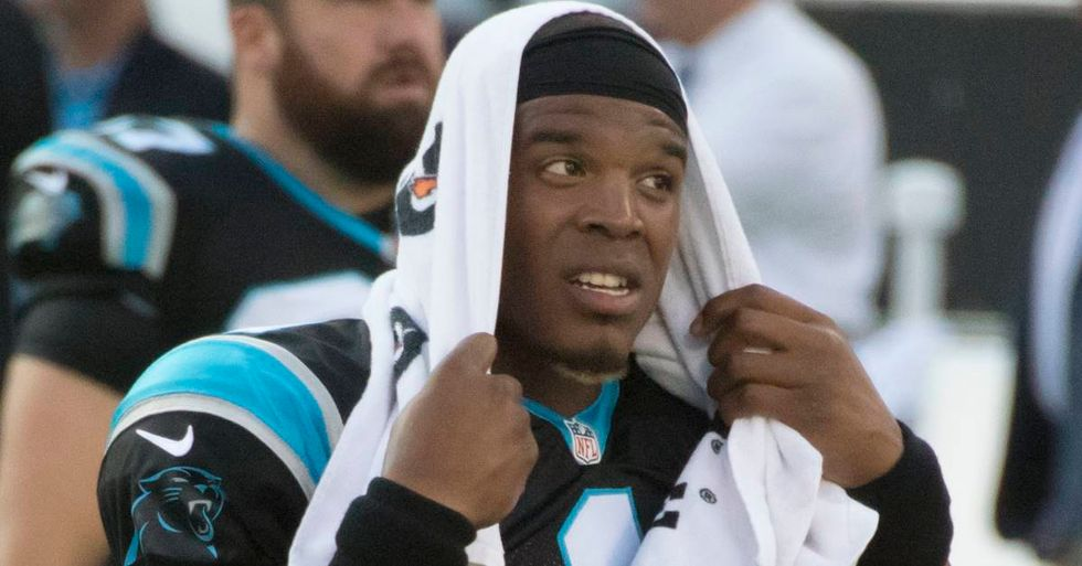 Little Girl Trolls Cam Newton For His Sexist Remarks