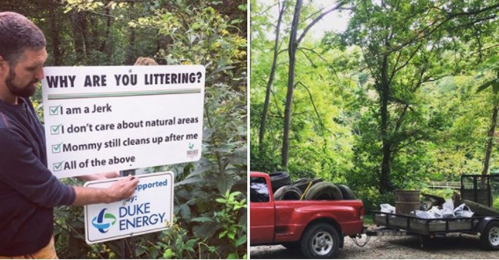 An Environmental Group Found A Brilliant Way To Call Out People Who Litter