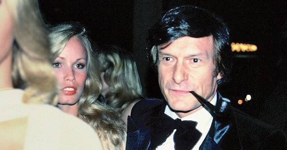 Hugh Hefner Purchased The Crypt Next To Marilyn Monroe For $75,000 In 1992