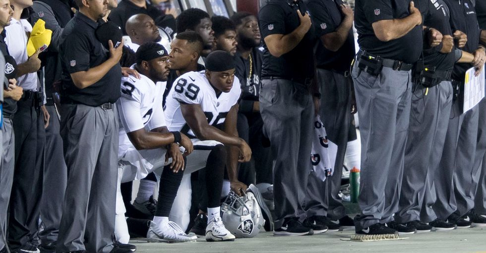 The NFL's Solution To The Protest Controversy? Make Every Player Wear Patches With This Empty Slogan