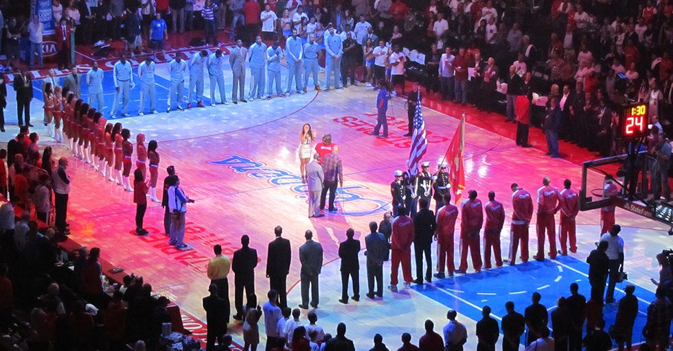 A Leaked NBA Memo Tells Coaches And Players How To Act During The National Anthem