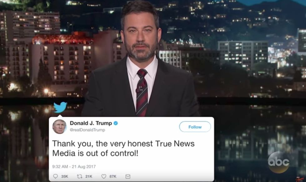 Jimmy Kimmel's Pitch For A 'Trump Translator' On Twitter Is Actually Kind Of Brilliant