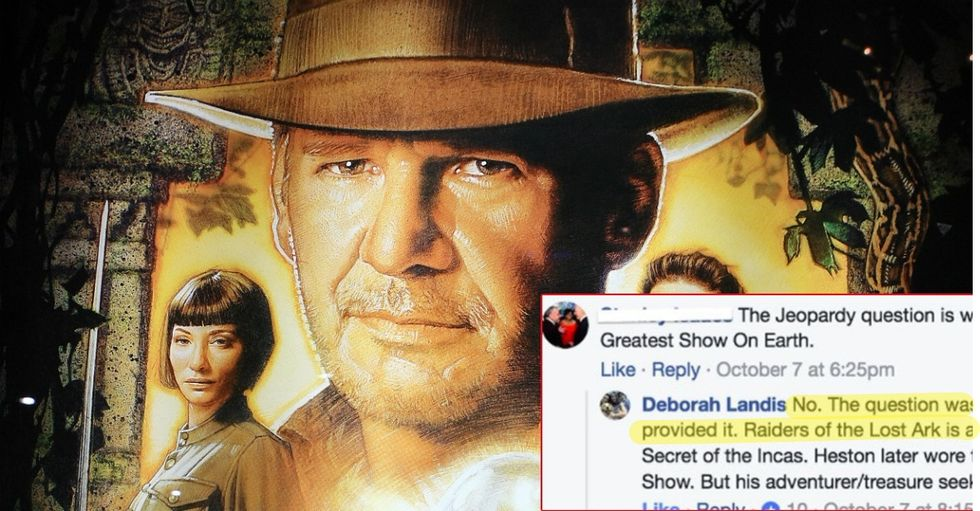Stranger Tries To Mansplain Indiana Jones Costume To The Woman Who Actually Designed It