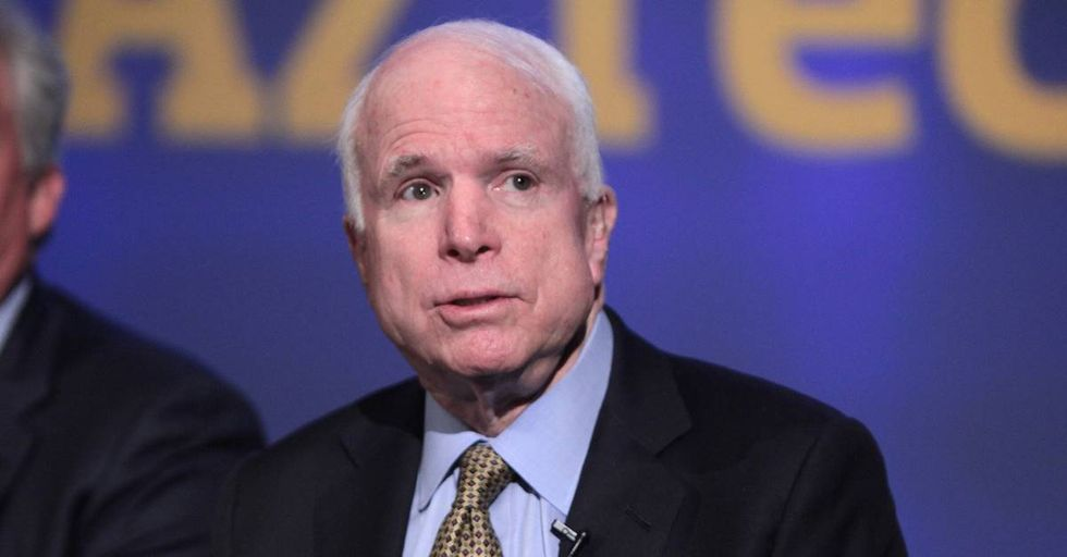 Sen. John McCain Calls Out Wealthy People Who Avoided Serving In Vietnam