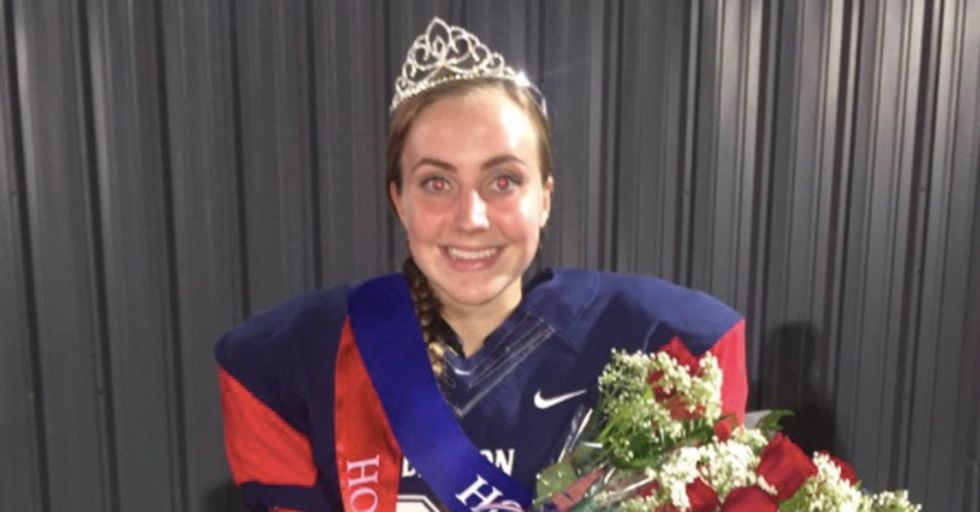 Teen Helps Win High School Football Game One Week After Becoming Homecoming Queen
