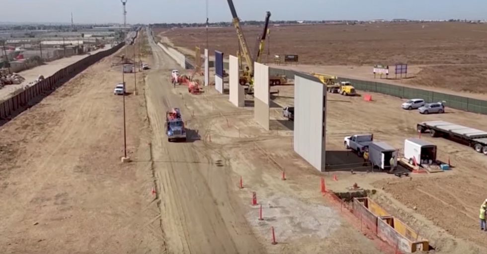 Drone Footage Of Border Wall Prototypes Reveals How Useless They'd Actually Be In Curbing Drug Smuggling