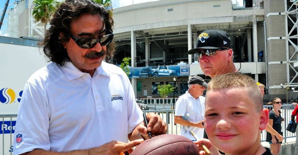 Jacksonville Jaguars Owner Shad Khan Thinks Trump's NFL Attacks Are More About Jealousy Than Patriotism