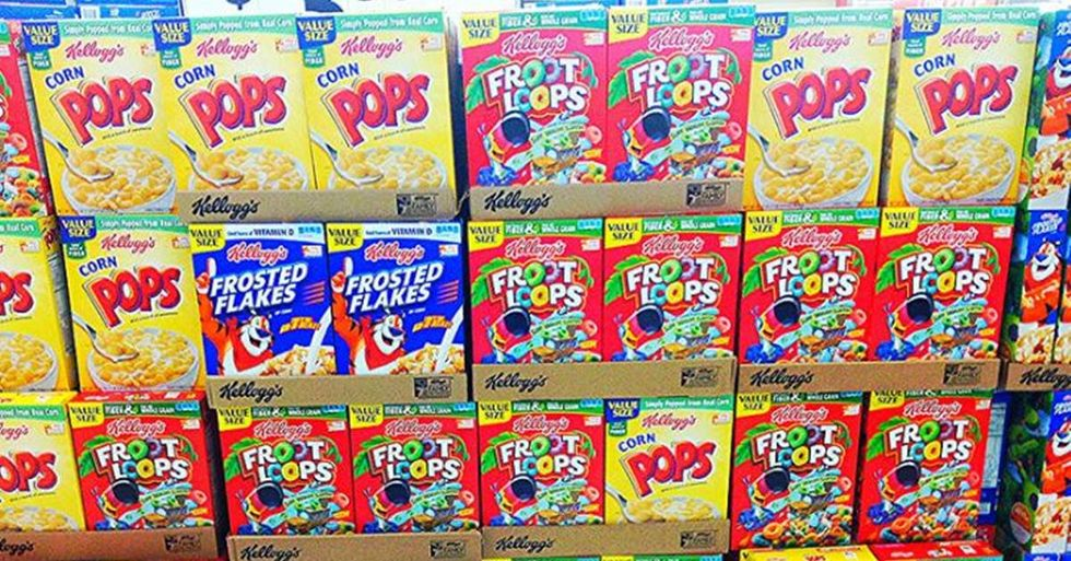 Marvel Writer Calls Out Kellogg's For A Racist Cereal Box
