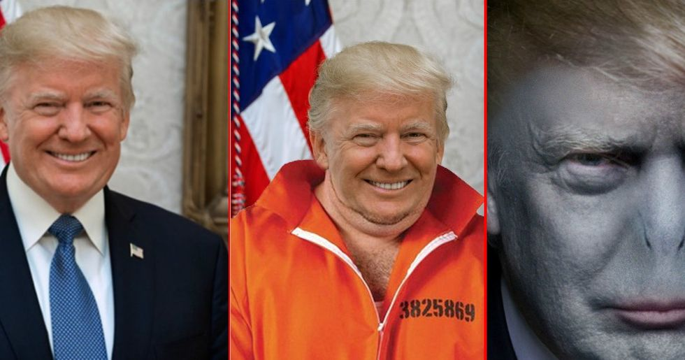 People Are Putting Their Own Spin On Trump's Newly Released White House Portrait