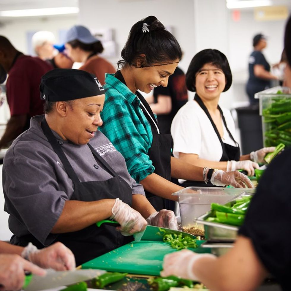 The Los Angeles Chargers Help Rethink How To Feed The Hungry