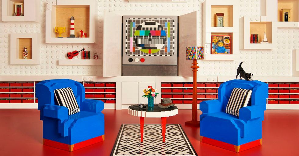 Who Wouldn't Want To Stay At This Airbnb Built Entirely With Legos?