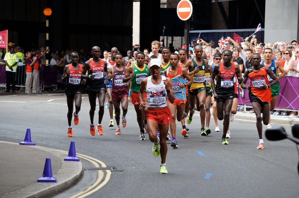 A Marathon Runner Chases Down The American Dream