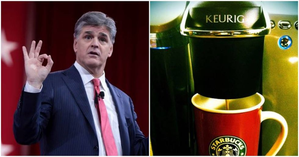 Sean Hannity Viewers Smash Their Keurig Coffee Makers To Support An Accused Pedophile