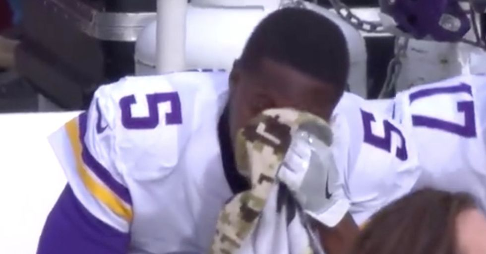 Two Years After An Injury Sidelined His Career, A Young NFL Player Makes A Tearful Return To The Field