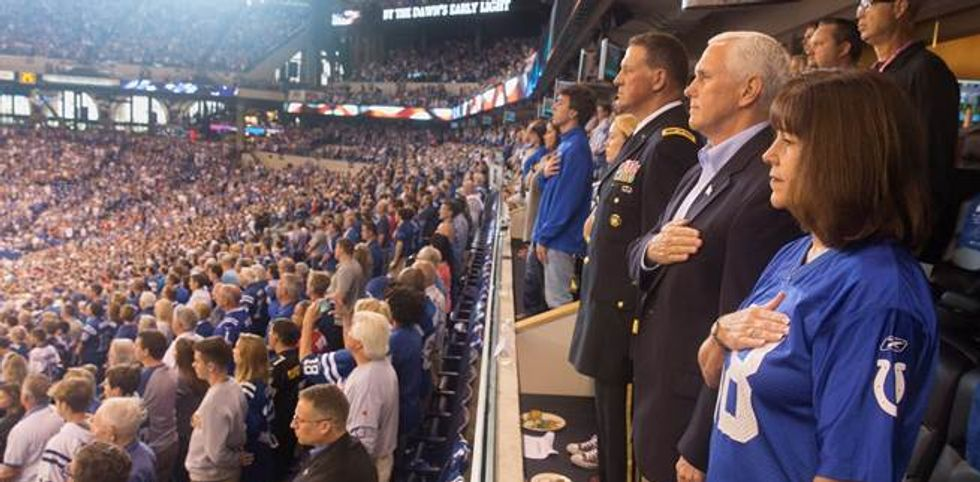 The Staggering Cost Of Mike Pence's NFL Game Protest Has Just Been Released