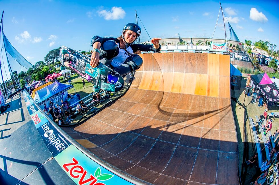 A Skateboard Competition That Empowers Girls And Supports Women