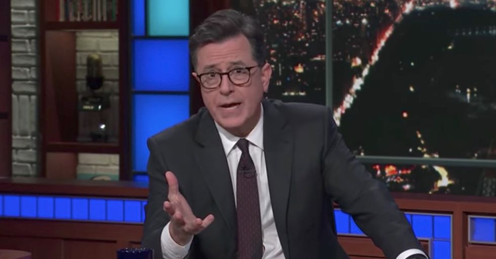 Stephen Colbert States 'Doing Nothing Is Unacceptable' In His Heartfelt Response To The Texas Church Shooting