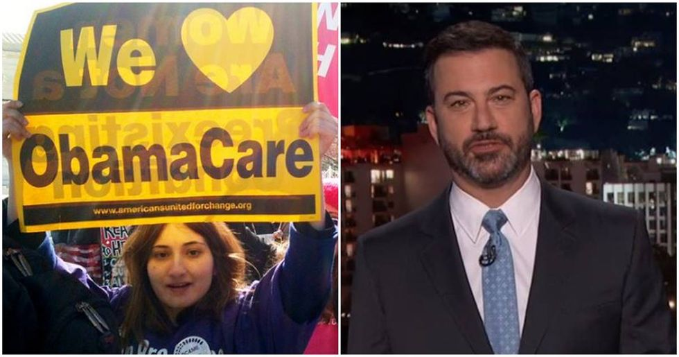 Jimmy Kimmel Just Figured Out How To Make Trump Supporters Love Obamacare