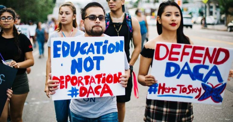 Hundreds Of Students Staged Walkouts To Urge Congress To Protect DREAMers