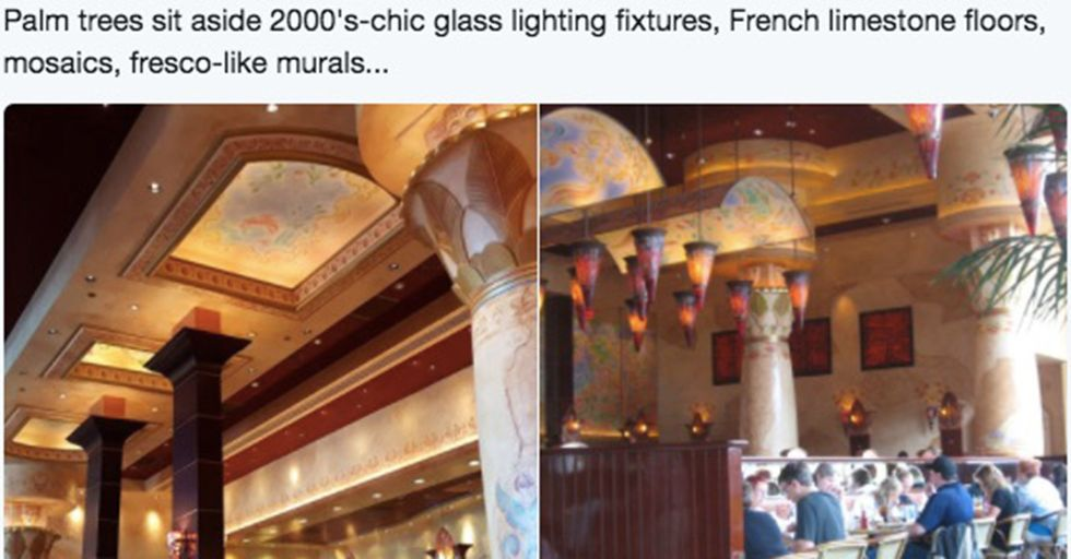 One Man's Tour Of Cheesecake Factory's 'Postmodern Design Hellscape'