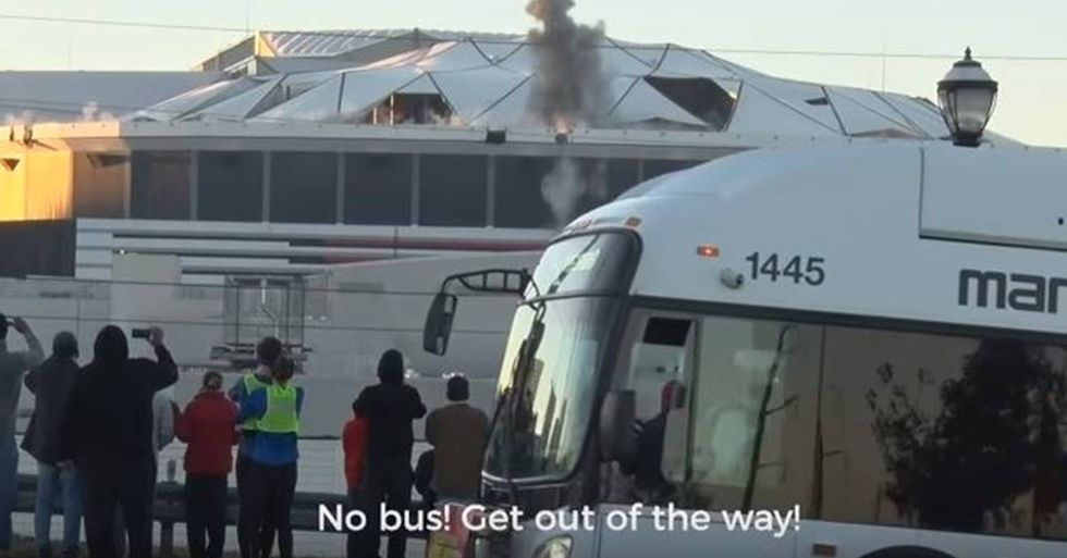 The Interrupting Bus Is The Best New Sports Meme