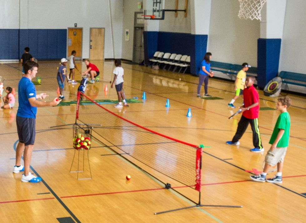 Youth Sports Organization Serves Up Tennis In School Cafeterias
