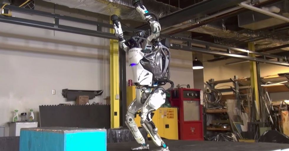 This Acrobatic Performance Shows How Far Robotics Have Come In Just A Matter Of Years