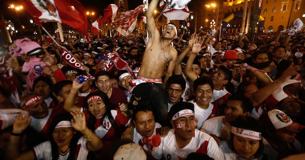 After Peru Qualified For The Country's First World Cup In 36 Years, Fans Threw One Hell Of A Party
