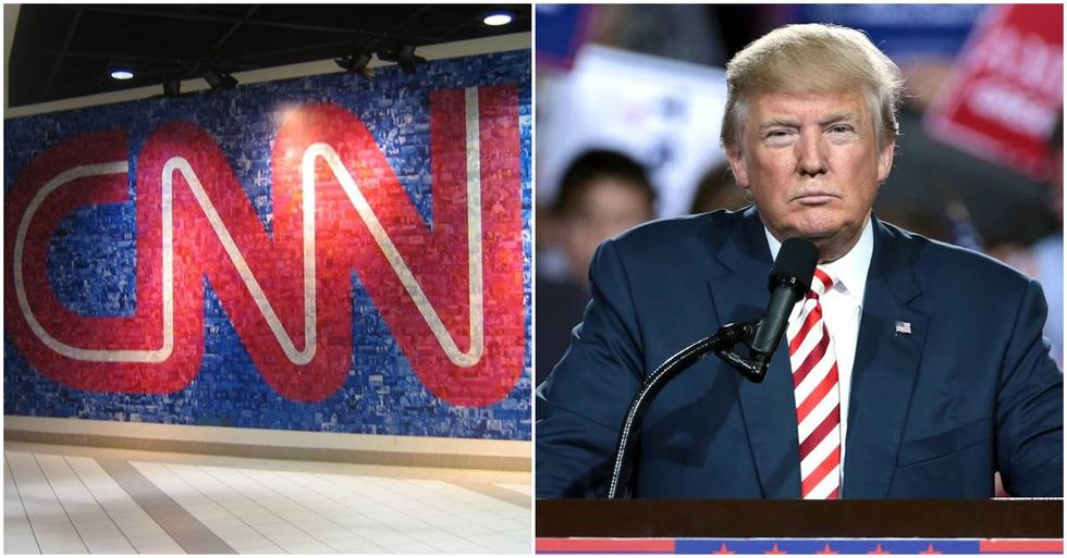 CNN Promotes Its #FactsFirst Campaign By Taking A Shot At Trump On Twitter