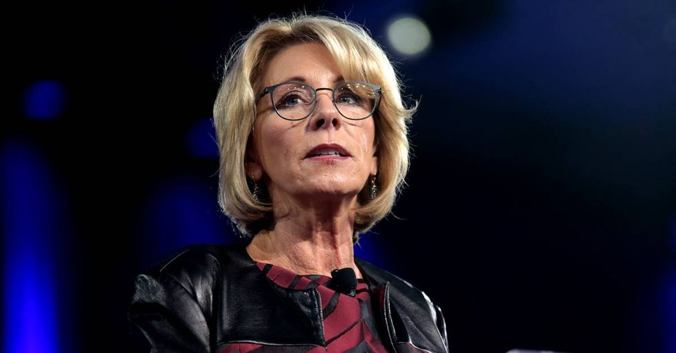Trump's Department Of Education Looks To Limit Civil Rights Investigations In The Nation's Schools