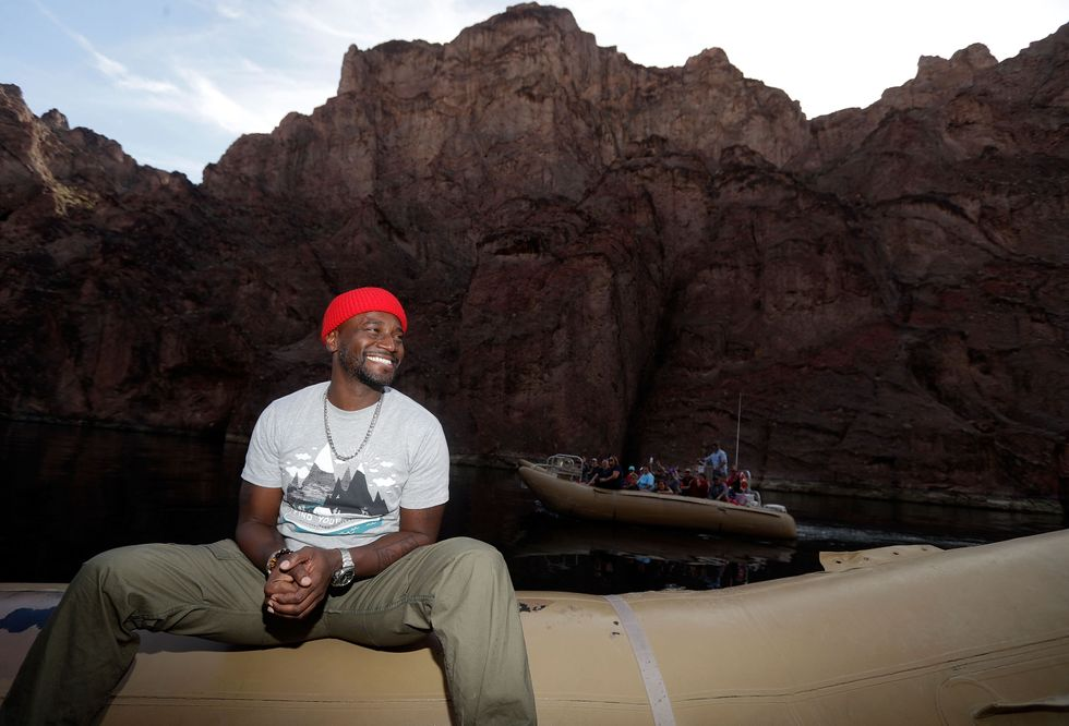Actor Taye Diggs Wants Families To Get Active At National Parks