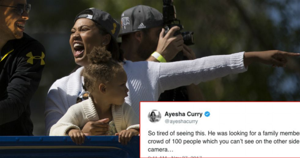 When A Twitter User Claimed Steph Curry Snubbed A Fan, The NBA Star's Wife Set The Record Straight