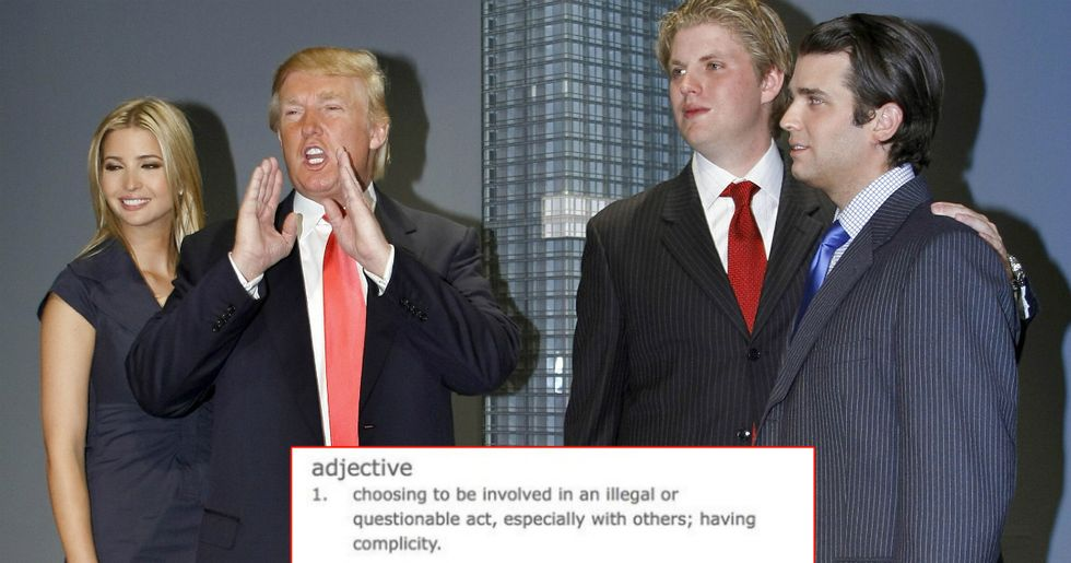 This Dictionary's Word Of The Year Is An Obvious Dig At The Trump Family