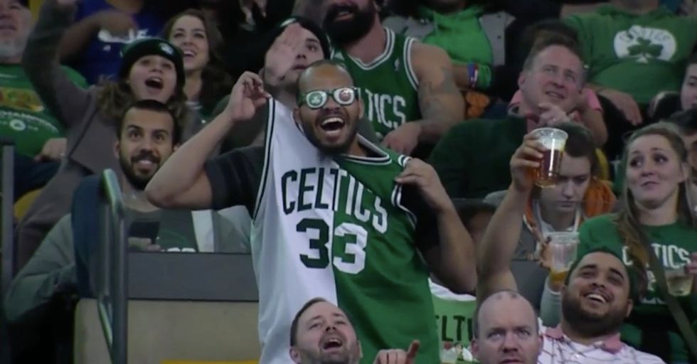 This Superhuman Dancer Stole The Show At A Celtics Game With Some Truly Freaky Moves