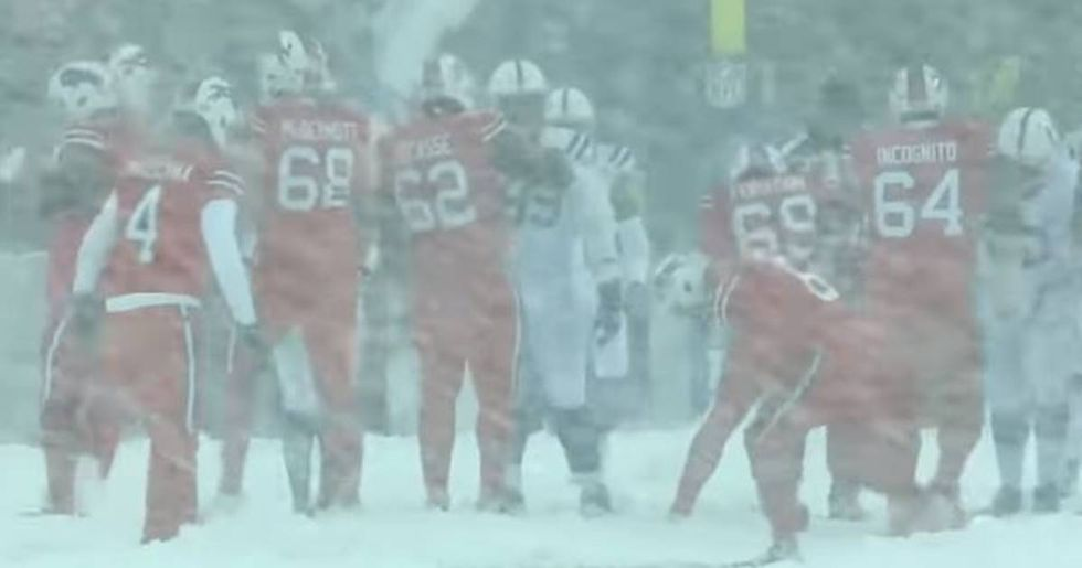 Some Unforgettable Images From The Bills-Colts 'Blizzard Bowl'
