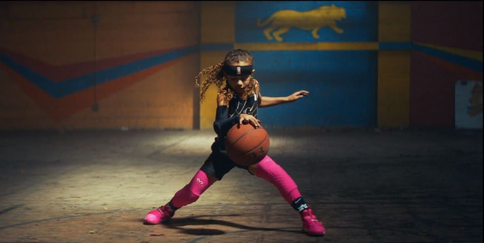 Watch: 7-Year-Old Female Basketball Phenom Electrifies In New Short Film