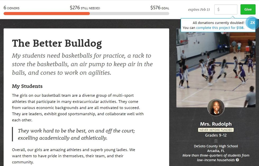 Worthy Cause Countdown: Help This Girls Basketball Team Raise $276 For Basketballs