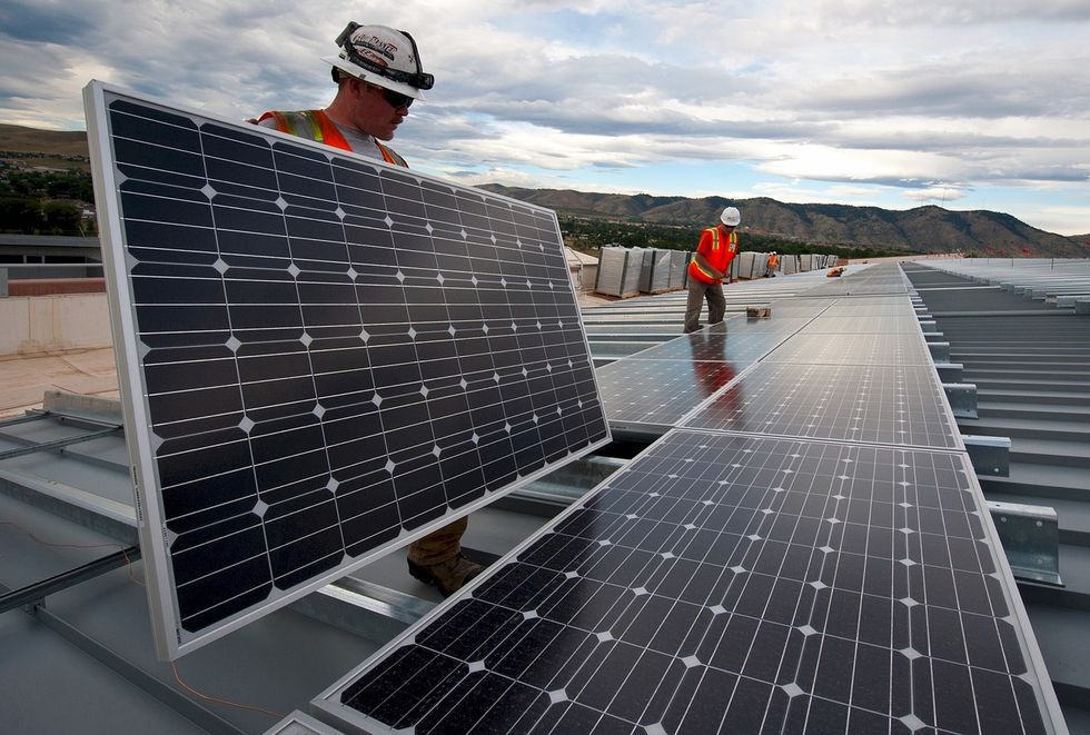 What's Under These Solar Panels Could Solve World Hunger