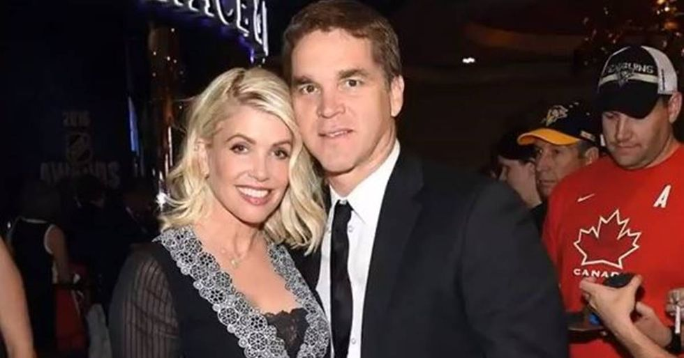 Hockey Legend Luc Robitaille's Wife Admits To Being Harassed By Donald Trump