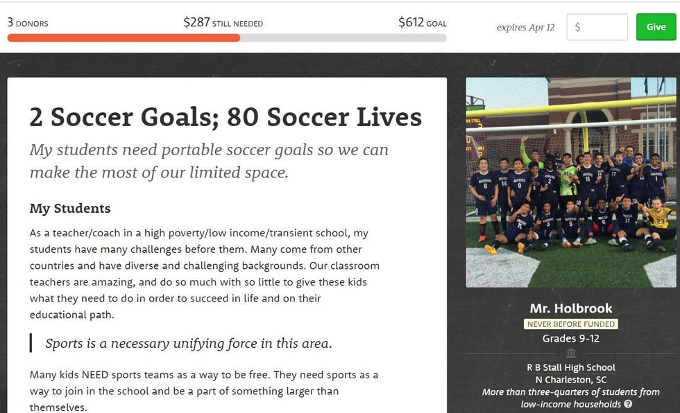 Worthy Cause Countdown: Help These Young Soccer Players Buy Goals