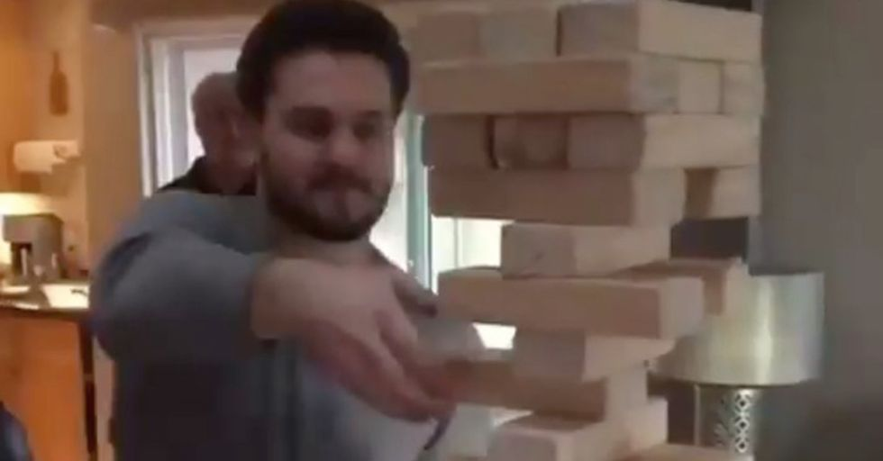 Here It Is: The Greatest Jenga Move The World Has Ever Seen