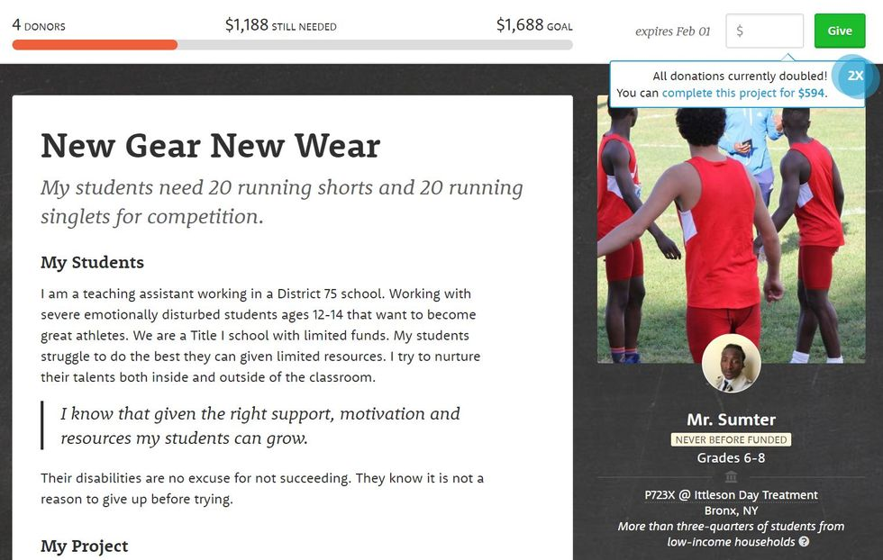 Worthy Cause Countdown: These At-Risk Bronx Teens Need Running Shorts