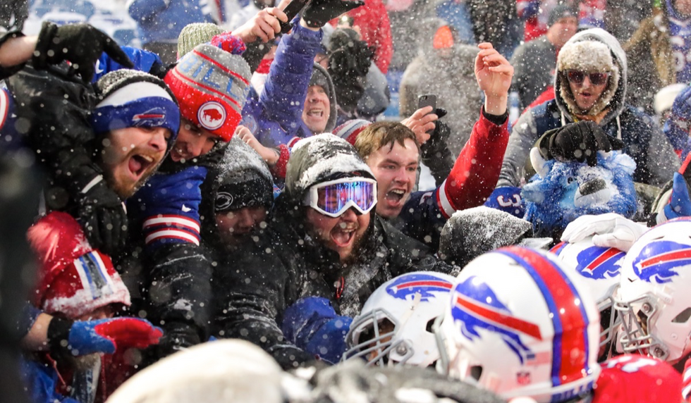 This NFL Team's Fans Just Lived Up To Their Intense Reputation In The Most Gracious Way