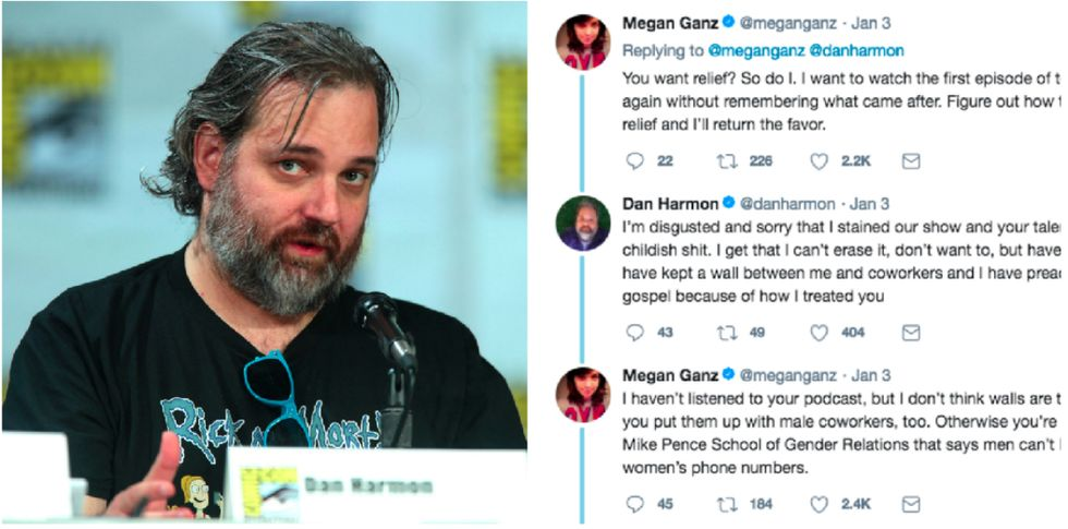After Dan Harmon's #MeToo Twitter Apology Got Awkward, She Showed Her Famous Ex-Boss A Better Way Forward