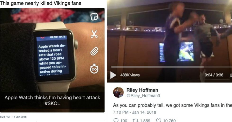 Minnesota Vikings Win Leads To Hysterical Reactions From The Sports World
