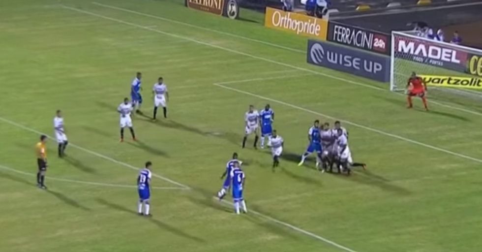 This Beautiful Fake-Out Penalty Kick Requires Repeat Views To Wrap Your Head Around It