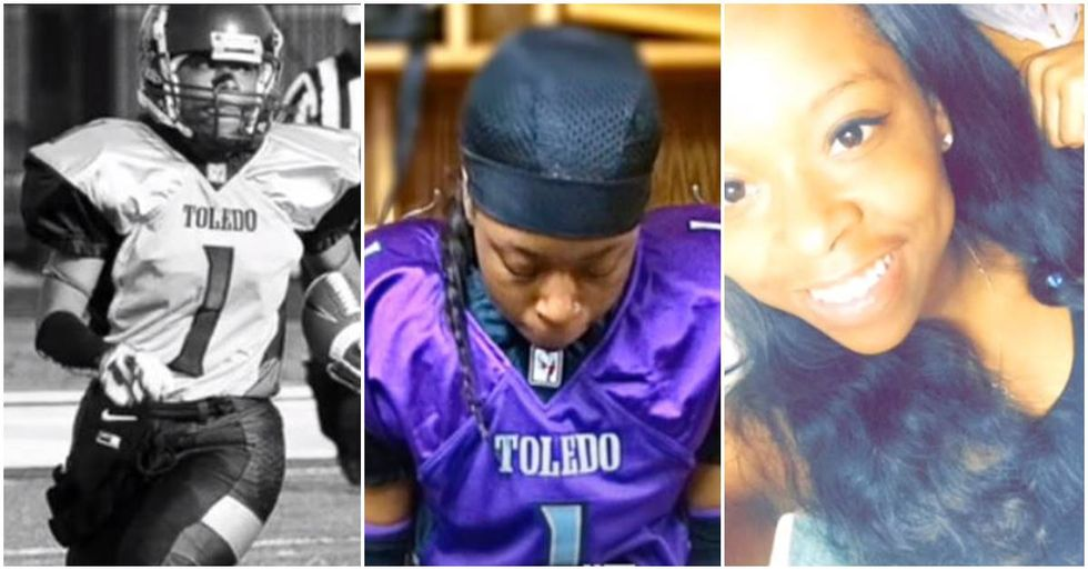 Toni Harris Is The First Woman Playing A Skill Position To Receive A College Football Scholarship