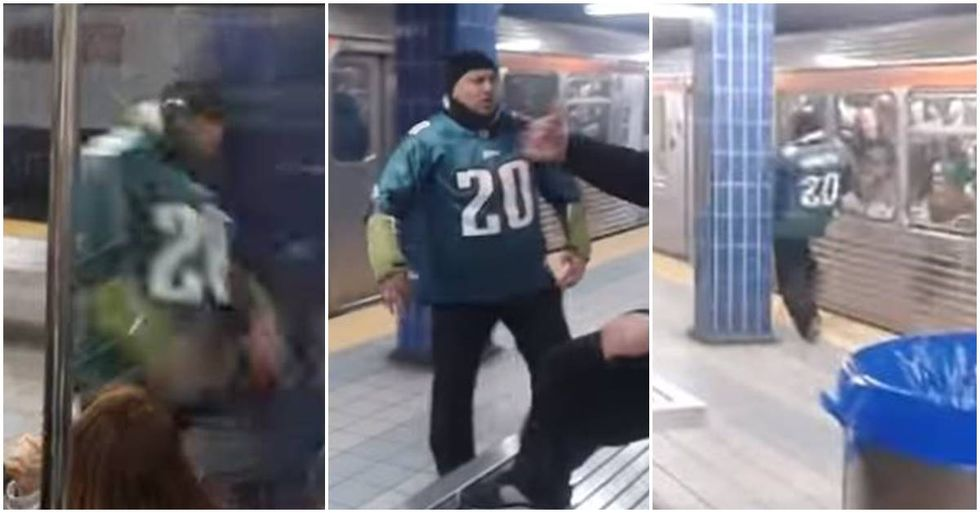New Footage Reveals More About The Eagles Fan Who Ran Into A Pole